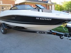 2013 Sea Ray 190 Sport EX Package 220 HP