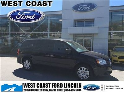 2015 Dodge Grand Caravan SE CVP, AC, PWR GROUP, NO ACCIDENTS